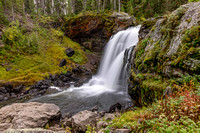 Moose Falls, Yellowstone, national park, waterfall, cascade, wyoming