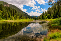 spearfish, canyon, south dakota, black hills, lake, reflection, print