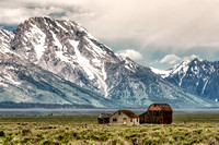 """Thomas Murphy Barn"", ""mormon row"", ""grand teton"", ""national park"", wyoming, barn, mount moran, mountain, rocky, mountains"