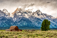 T.A.Mouton Barn, moulton, barn, mormon row, grand teton, national park, wyoming